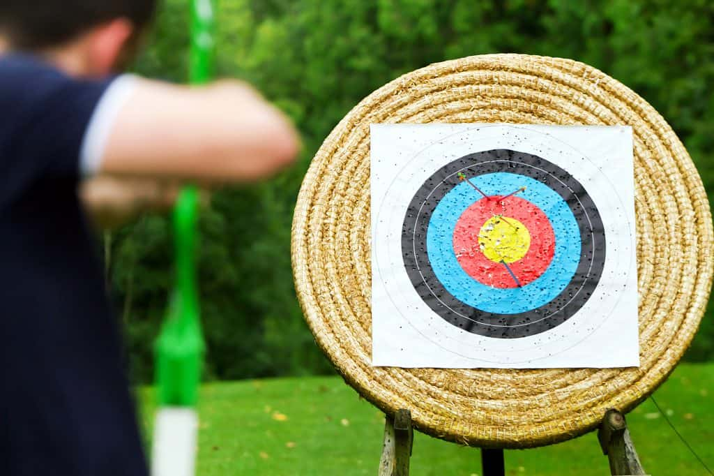 how to build archery targets